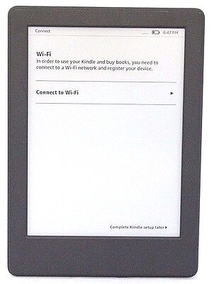 "Amazon Kindle 8th Gen Model SY69JL, 6"" WiFi, 4GB,Touchscreen Black  42-4F"