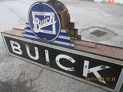 Buick Dealership Sign, purchased 1957 original