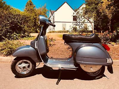 Piaggio Vespa Px 150cc manual 2-stroke engine upgrades