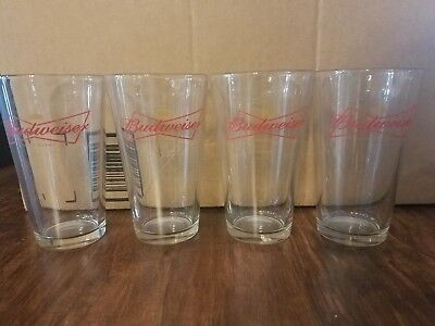 Budweiser Glass Set