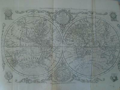 c.1790 Banks Cook maps America Asia Complete System Universal Geography 111 plts