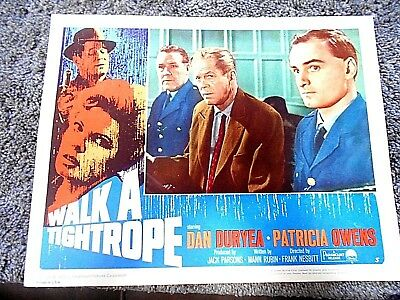 Dan Duryea                       Walk A Tightrope
