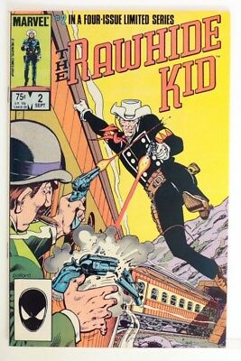 P013 THE RAWHIDE KID #2 From Marvel Comics 7.5 VF- (1985) Limited Series >