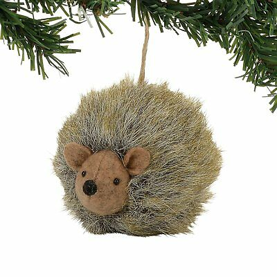 Department 56 Forest Favorites Fur Hedgehog Animal Christmas Ornament 4057792