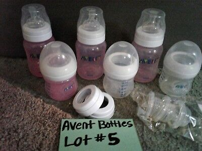 Set of Avent baby  bottles mixed sizes  lot #5 of 7