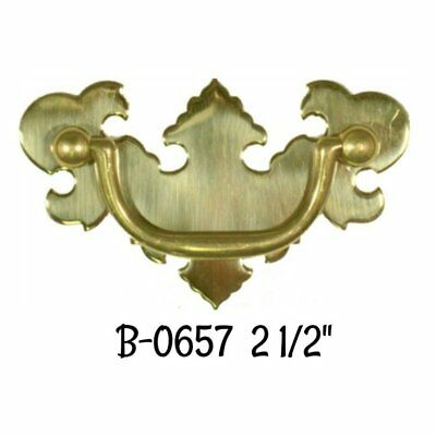 "2 1/2"" Bat wing Chippendale Early American Style Drawer Pull"