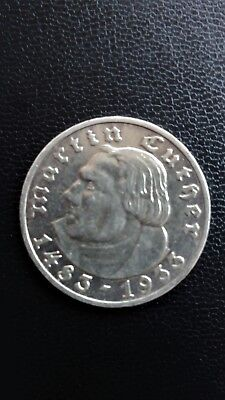 5 Mark Martin Luther 1483 - 1933 A