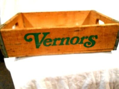 Vernors Wood Crate 1978