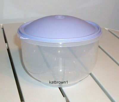 New Tupperware Classic Lettuce Keeper Crisper Crisp-it - Blueberry domed seal