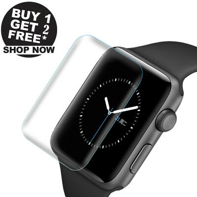 3Pcs Ultra-thin Screen Protector 3D Full Cover For Apple Watch Series 4 44mm