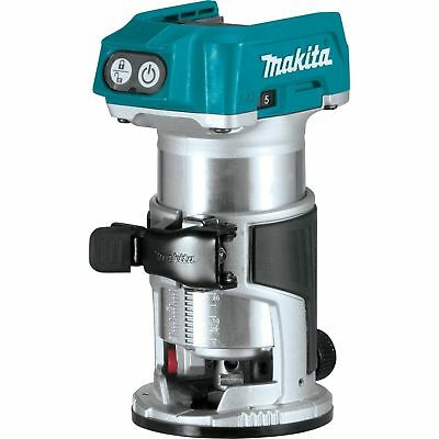 Makita XTR01Z 18V LXT Lithium-Ion Brushless Cordless Compact Router  2