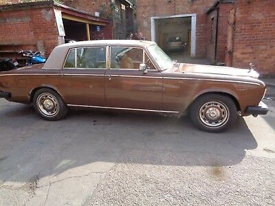 rolls Royce silver shadow ll 2 runs and drives but requires work 77 1977 RELIST