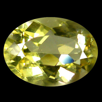 2.77Ct IF Oval Cut 11 x 8 mm 100% Natural Yellow Beryl