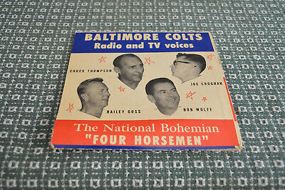 Baltimore Colts 1958 NFL Championship Game Recording Football Record
