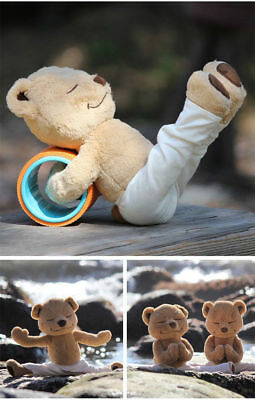 Yoga Yogi Meddy Bear Teddy Stuffed Plush Doll Bendable for Body Soft Cartilage