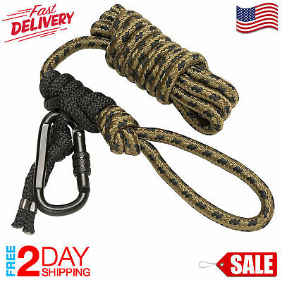 ✅ Hunter Safety System Tree Strap Rope Life Line Treestand Hunting Gear Climbing