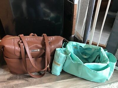 Lily Jade Shaylee in Brandy & Gold, Teal Interior