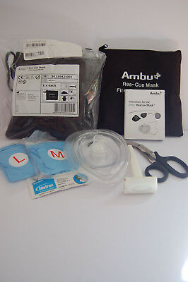 2 x Ambu Res-Cue Mask First Responder Kit