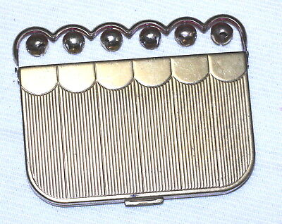 """Coty """"Sleigh/jingle Bells""""  Compact 1942 powder/rouge 6 bells that really jingle"""