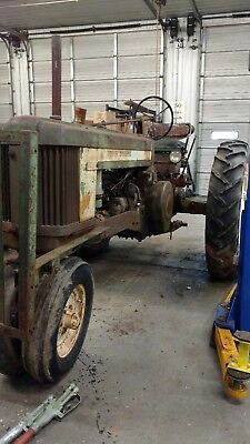 John Deere model 50 tractor 1954 farm equipment 2 cylinder rare antique offers!