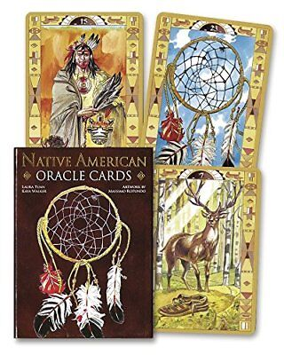 Native American Spirituality Oracle Cards by Rotundo, Massimo Book The Cheap