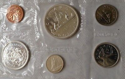 1965 Proof  Set of Canada w Silver coins