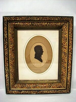 Early 1800s Ink Silhouette NATHAN DALLAM (1782-1837) - Princeton, Kentucky