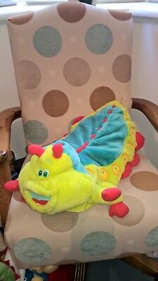 "Fantastic large 21"" long Disney Pixar Bugs life soft toy Heimlich caterpillar"