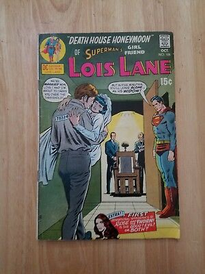 SUPERMAN'S GIRL FRIEND LOIS LANE #105 VG 1st ROSE AND THE THORN 1970 DC COMICS