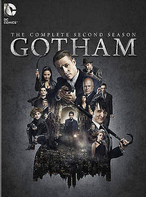 Gotham: The Second Season Two 2 (DVD, 2016, 6-Disc) NEW FREE SHIPPING er