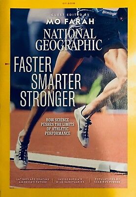 NATIONAL GEOGRAPHIC MAGAZINE - July 2018 - Used, good condition