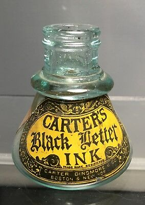 Carters Black Letter Ink - Labeled Cone Ink