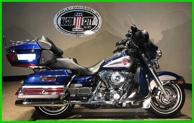 Touring  2007 Harley-Davidson Touring Electra Glide Ultra Classic Silver & Blue