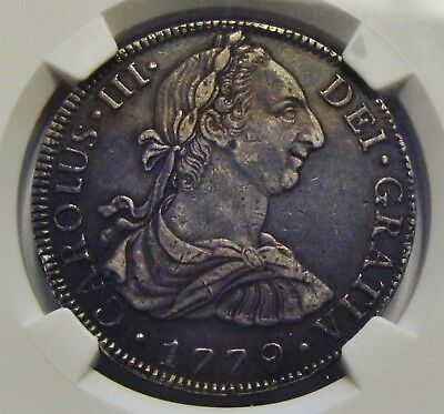1799 Mo FF Mexico 8 Reales NGC Certified XF Details NO RESERVE