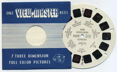 HEIDELBERG Germany 1955 Belgium-made View-Master Single Reel 1516