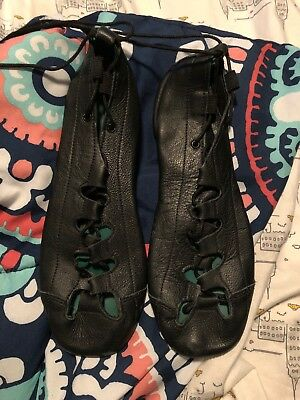 Irish Dance Rutherford Ghillies Soft Shoes Size 5
