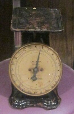 Antique Columbia Family Scale; 24 Pounds by Ounces; The Park & Pollard CO