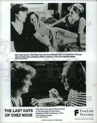 """1993 Press Photo Scenes from """"The Last Days Of Chez Nous"""" - spp41156"""