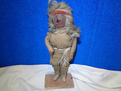 Native American Folk Art Cloth Doll