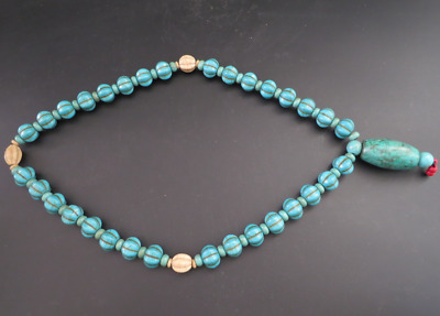 Old Chinese  jade, collectibles, Tibetan, turquoise, necklaces Y4237