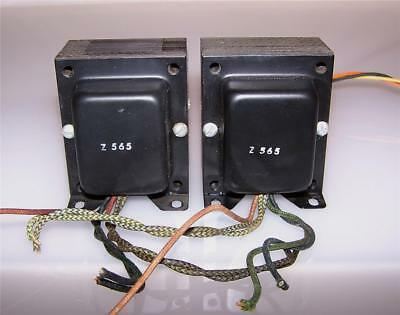 2 NICE VINTAGE Dynaco SCA-35 ultralinear PP 6bq5 tube amp output  transformers