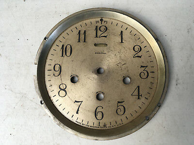 Moderen Ansonia Clock Face with Level for  Parts / Repair ML135A
