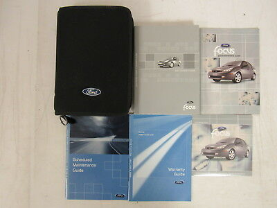 ford focus owners manual 2003