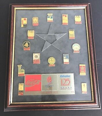 VALVOLINE1992 125 Years  OLYMPICS Coca-Cola Collectors PIN Set Limited Ed #5/175