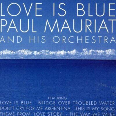 Paul Mauriat - Love Is Blue - Paul Mauriat CD PVVG The Cheap Fast Free Post The