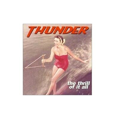 Thunder - Thrill of It All - Thunder CD GRVG The Cheap Fast Free Post The Cheap