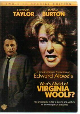 Who's Afraid of Virginia Woolf? (2 Disc Special Edition) - DVD  64VG The Cheap
