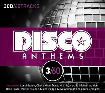 Various Artists - 3/60 - Disco Anthems - Various Artists CD MOVG The Cheap Fast