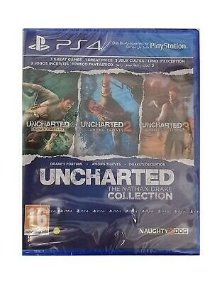 Uncharted: The Nathan Drake Collection (PS4) - Game  KWVG The Cheap Fast Free