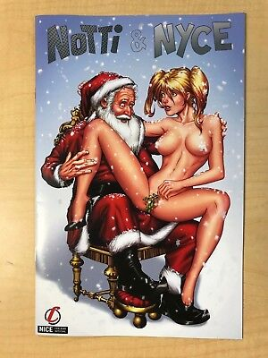 Notti & Nyce Christmas Special Marat Mychaels NICE Variant Cover Counterpoint